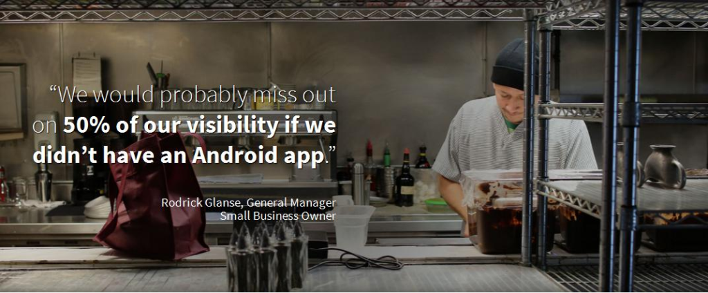 How much android app can add value in your business